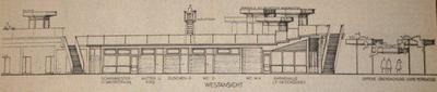 Skizze zur Sanierung des Hochbads