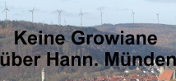 Großwindanlagen über Hann.Münden