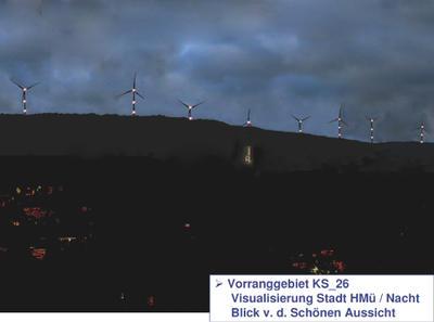 Visualisierung Stadt HMü KS_26 nachts